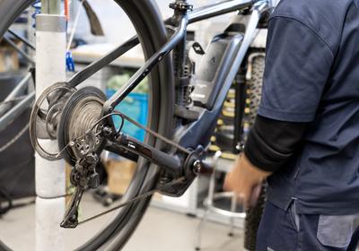 E-Bike Pflege