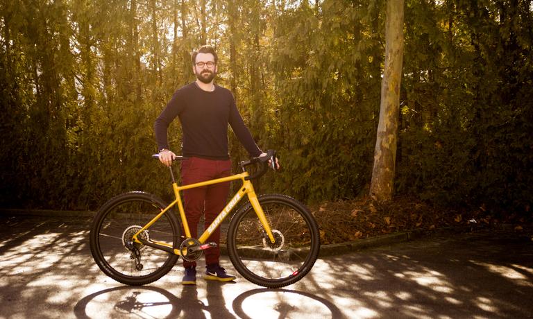 Luigi's new Bike: Santa Cruz Stigmata