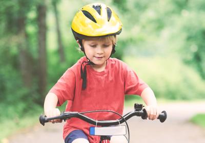 Der richtige Fahrradhelm für Kinder