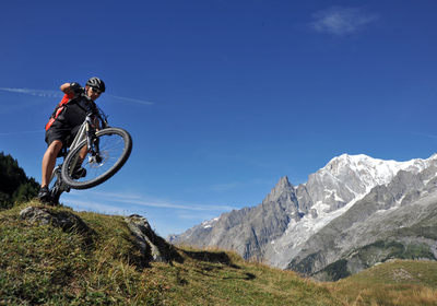 Singletrail-Paradies Westalpen (1/3): Aostatal