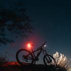 Sonne aus – Fahrradbeleuchtung an