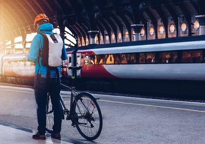 Mobil mit der Bahn: Fahrradmitnahme im Zug